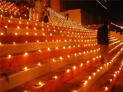 Diwali in Varanasi or Banaras