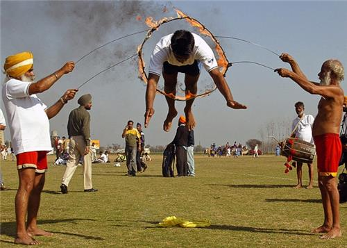 Indian rural olympics of Kila Raipur