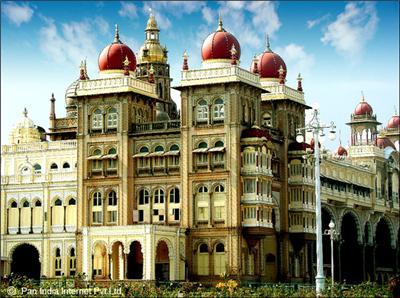 Mysore Palace - Example of Indo Saracenic Style