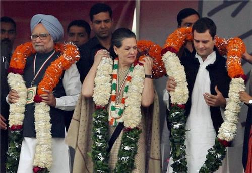During a Congress Rally