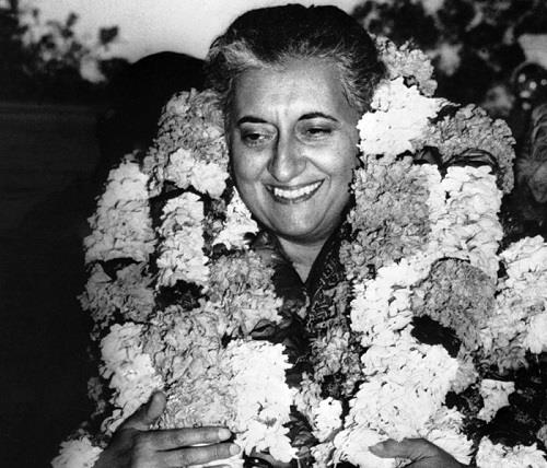 Indira Gandhi Won the Elections in 1971