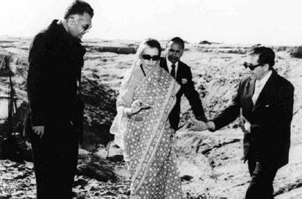 India first nuclear test, Pokhran-I (nicknamed Smiling Buddha)