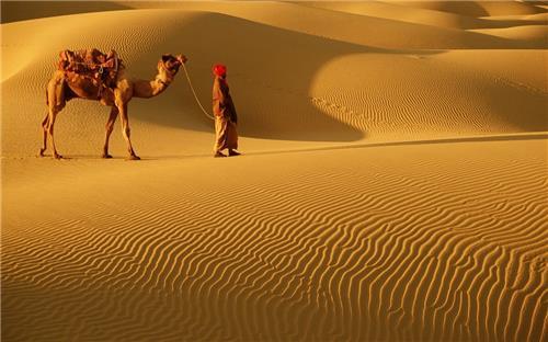 Thar desert of rajasthan for solitary holiday