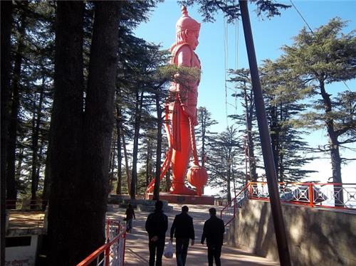 108-feet-high Hanuman idol