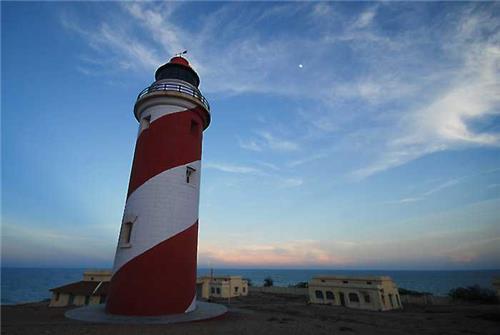 Manapad Beach Lighthouse