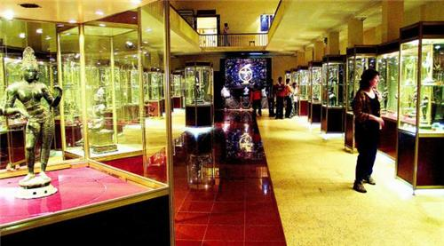 Gallery of a Museum