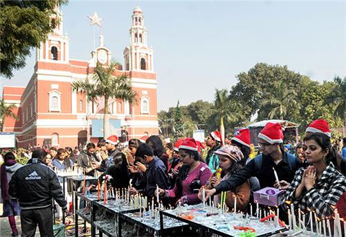 Christmas Celebrations in Delhi