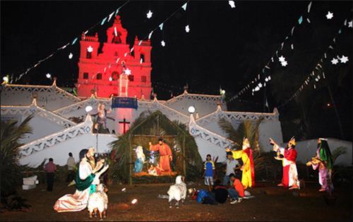 Christmas celebrations in Goa