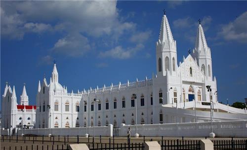 Velankanni Church in Tamil Nadu