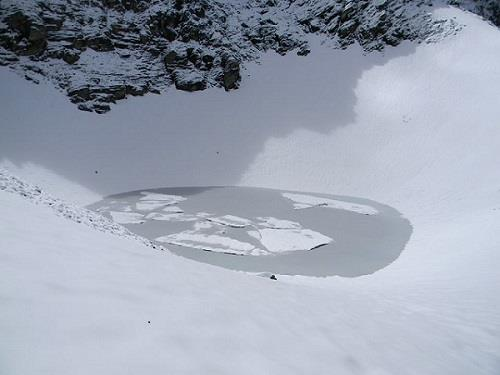 Roopkund Lake aka Skeleton Lake Uttarakhand