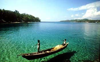 Butler Bay in Andaman
