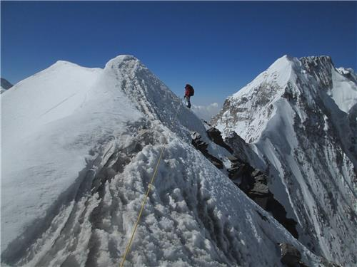 Mountaineering in Nanda Devi