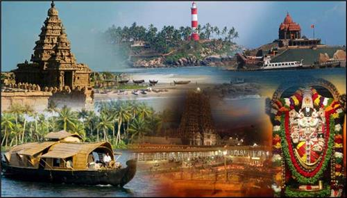 Tourist Destinations in South India