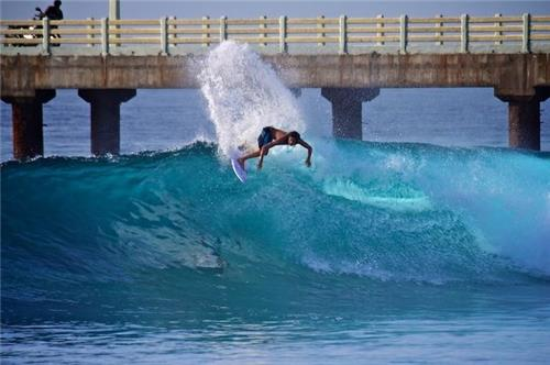 Water surfing in India