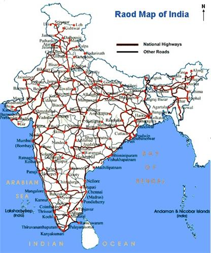 India Road Map