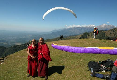 paragliding holiday in sikkim