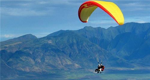 Paragliding in nandi hills banagalore