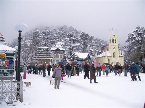 Best Christmas Celebrations In India shimla
