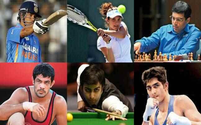 Sportsmen in India