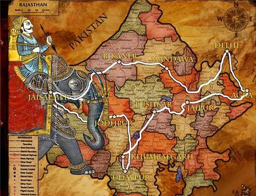 Jaipur Map