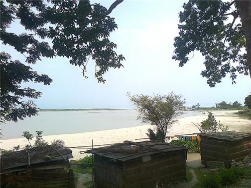 Teesta River through Jalpaiguri