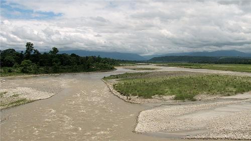Murti River Banks