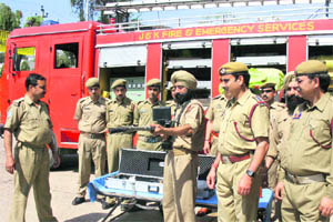 Fire Stations in Jammu