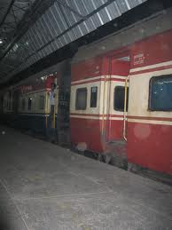 Jammu station platform