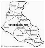 Map of Jamshedpur, Tata