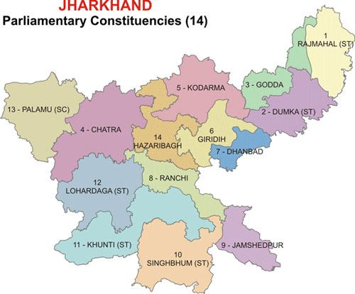 Parliamentary Constituencies in Jharkhand