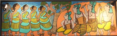 Paitkar Painting in Jharkhand
