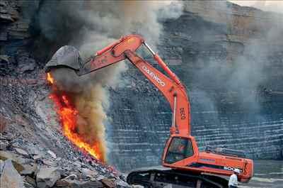 Coal Mining in Jharia