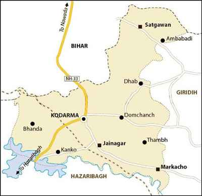 Geographical Features of Koderma