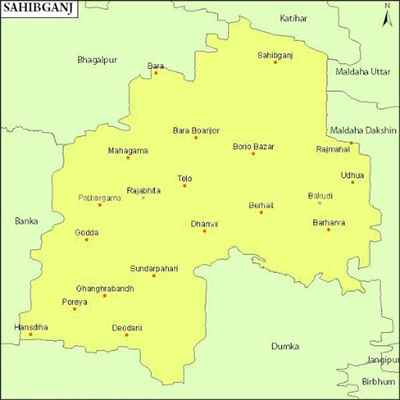 Geography of Sahibganj