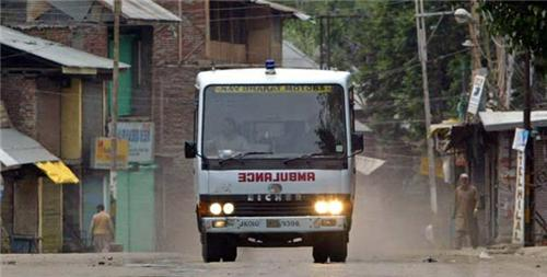Ambulance in Jammu and Kashmir