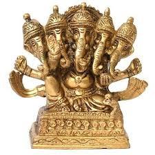 Ganesha Idol made of Brass