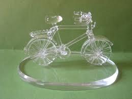 Figurine made up of Glass