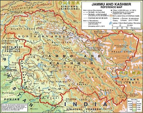 Geographical Conditions of Jammu and Kashmir