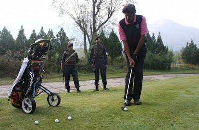 Golfing in Jammu and Kashmir