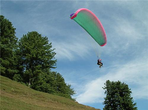 Paragliding in Jammu and Kashmir