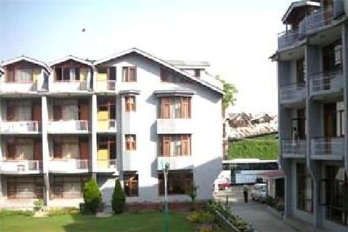 Location of Hotel Paradise in Srinagar