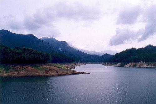 Manasbal Lake at Ganderbal in Jammu Kashmir