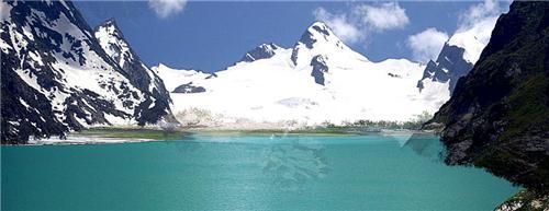 Sheshnag Lake placed in Jammu Kashmir