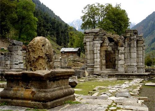 Ancient Temple complex of Jammu Kashmir