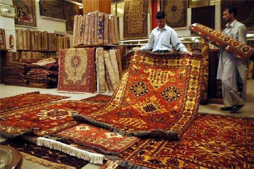 A Carpet Shop in Srinagar