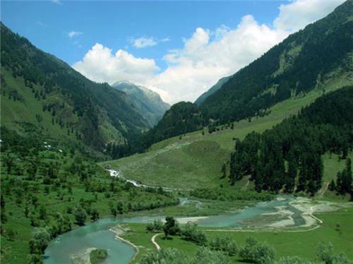 Valleys in Jammu Kashmir
