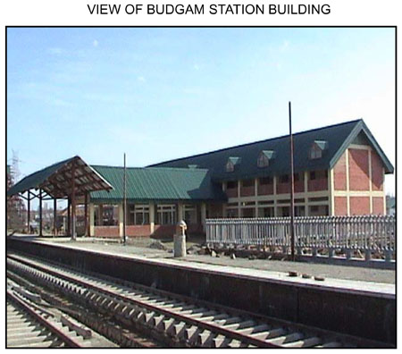 Railway Station at Budgam