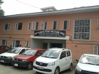 The New Court Building in Budgam