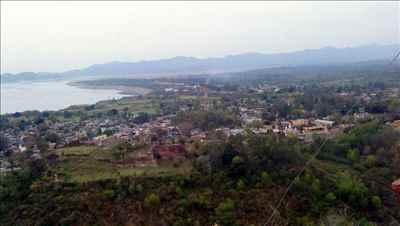River Ravi Flowing by Bashohli