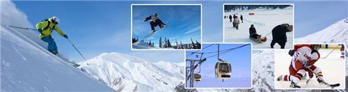 Winter sports played in Gulmarg